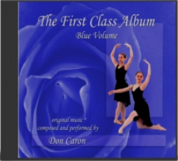Ballet Class Music Blue Volume