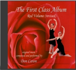 Ballet Class Music Red Volume