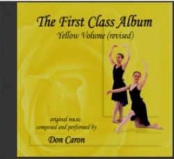 Ballet Class Music Yellow Volume